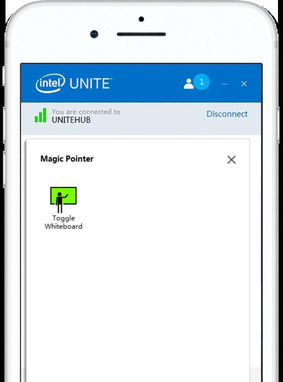 iOS Intel Unite Re Mago Magic Pointer